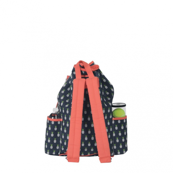 Ame & Lulu Pineapple Kinglsey Tennis Backpack