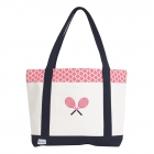 Ame & Lulu Clover Tennis Lovers Tote Bag - Ame & Lulu Tennis Lovers Tote