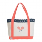 Ame & Lulu Pineapple Tennis Lovers Tote Bag - Ame & Lulu Tennis Lovers Tote