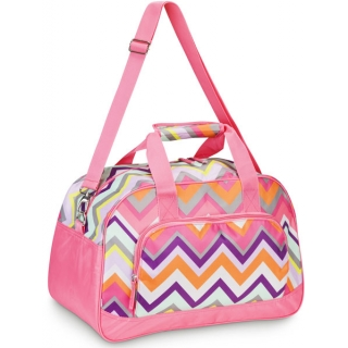 All For Color Chevron Duffle Bag