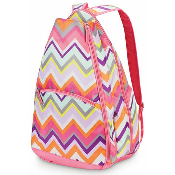 All For Color Chevron Tennis Backpack