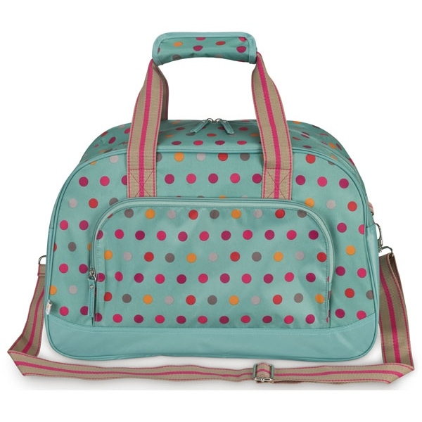 All For Color Darling Dot Duffle Bag