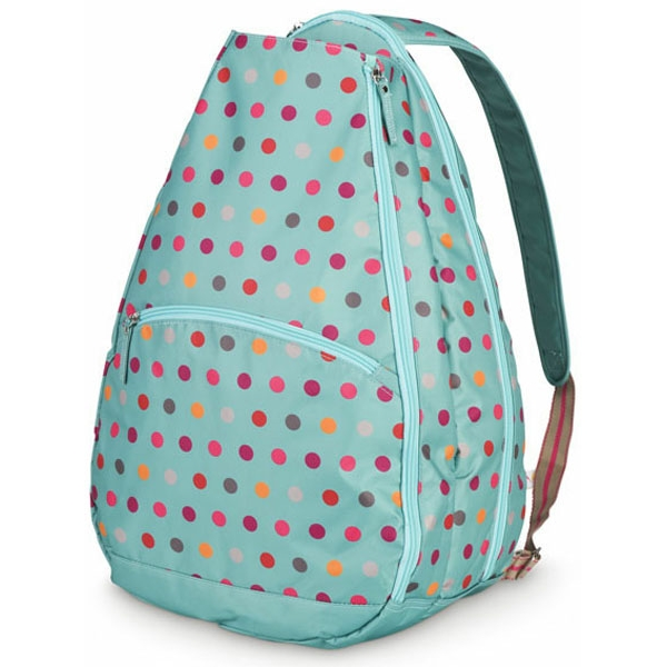 All For Color Darling Dot Tennis Backpack