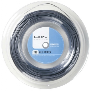Luxilon ALU Power 138 200m 15g Silver Tennis String (Reel)