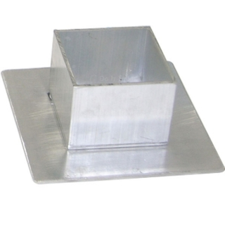 Aluminum Square Sleeve Covers #3217