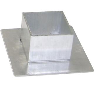 Aluminum Square Sleeve Covers