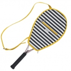 Ame & Lulu Tilly Riley Tennis Racquet Cover - Ame & Lulu Ladies Tennis Bags Black Friday Blowout Sale!
