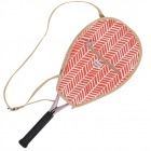 Ame & Lulu Tango Riley Tennis Racquet Cover - Tennis Racquet Covers