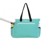 Ame & Lulu Kensington Tennis Court Bag (Aqua/Black) - SALE: Ame & Lulu Tennis Bags for Women