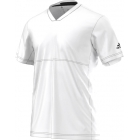 Adidas Men's Uncontrol Climachill Tee (White/ White) - Men's Adidas Apparel