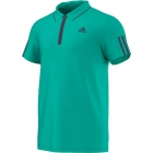 Adidas Men's Barricade Polo (Mint/ Dark Blue) - Men's Adidas Apparel