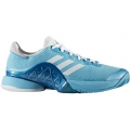 Adidas Men's Barricade 2017 Tennis Shoe (Blue/White)
