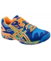 Asics Men's Gel Resolution 5 Shoes (Blue/ Orange/ Yellow) - Asics Gel-Resolution Tennis Shoes
