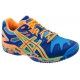 Asics Men's Gel Resolution 5 Shoes (Blue/ Orange/ Yellow) - New Tennis Shoes