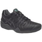 Asics Men's Gel Resolution 7 Tennis Shoes (Black/Dark Grey/Lapis) - Asics Gel-Resolution Tennis Shoes