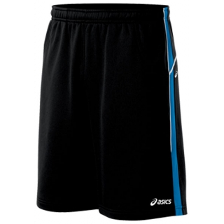 "Asics Men's 9"" Tennis Short (Black/ Jasper)"