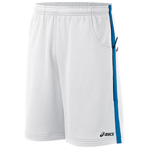 "Asics Men's 9"" Tennis Short (White/ Jasper)"