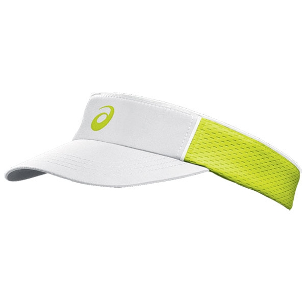 Asics Women's Court Diva Visor (White/ Wow)