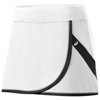 Asics Women's Court Skort (White/ Black)
