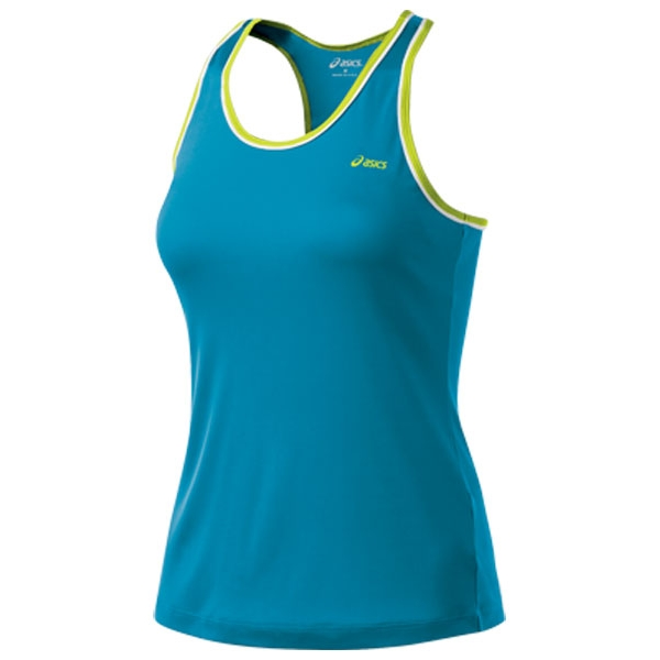 Asics Women's Court Tank (Lapis/ Wow)