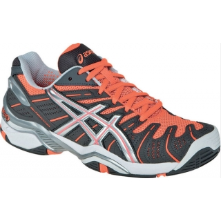 Asics Women's GEL-Resolution 4 Tennis Shoes (Gry/ Sil/ Mln)