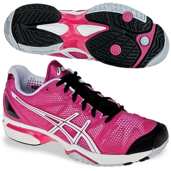 0da6b710ed51 Asics Women s GEL-Solution Speed Tennis Shoes (Beetroot Purp Wht ...