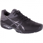Asics Men's GEL-Solution Speed 3 Tennis Shoes (Black/Grey) - Asics Tennis Shoes