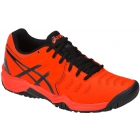 Asics Junior Gel Resolution 7 GS Tennis Shoes (Cherry Tomato/Black) - Junior Tennis Shoes