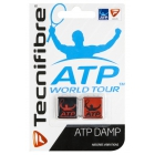 Tecnifibre ATP Dampener 2 Pack (Black/Red) - Tecnifibre Tennis Accessories