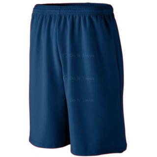 Augusta Men's Longer Length Wicking Shorts with Pockets
