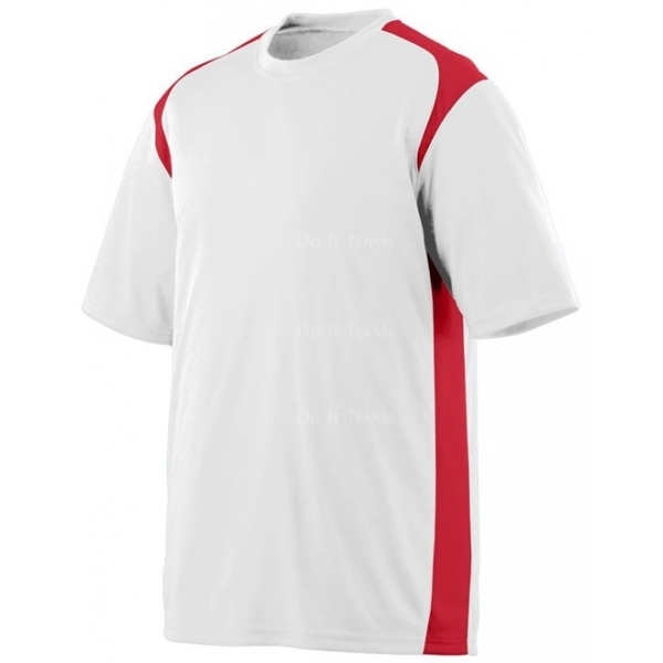 Augusta Men's Wicking /Antimicrobial Gameday Crew White