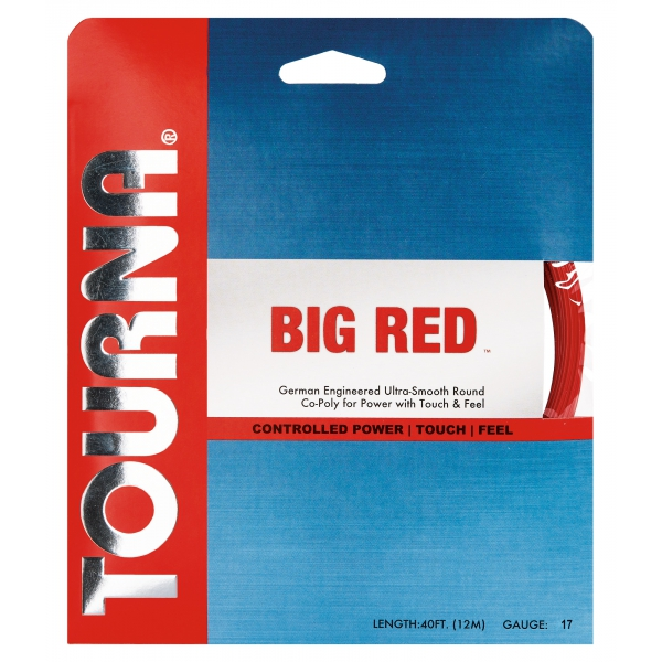 Tourna Big Red 17g Tennis String (Set)