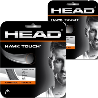 Buy 1, Get 1 Free! Head Hawk Touch 18g Tennis String (Set)