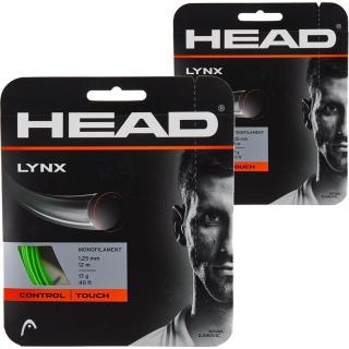 Head Lynx 17g Tennis String (2 Sets)
