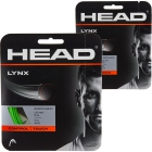 Head Lynx 18g Tennis String (2 Sets) - Promotions, Discounts and Special Offers on Premium Tennis Gear