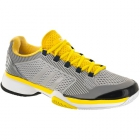 Adidas Women's Barricade 2015 Tennis Shoes (Grey/Yellow/Black) - Performance Tennis Shoes