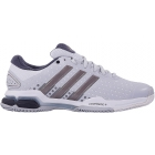 Adidas Men's Barricade Team 4 Tennis Shoes (Grey/ Silver/ Dark Grey) - Men's Tennis Shoes