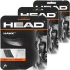 Head Hawk 18g Tennis String (3 Sets) - Promotions, Discounts and Special Offers on Premium Tennis Gear