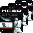 Head Sonic Pro Edge 17g Tennis String (3 Sets) - Promotions, Discounts and Special Offers on Premium Tennis Gear