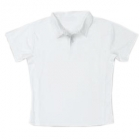 LMT Classic Polo (White) - Boy's Tennis Apparel