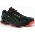 Adidas Men's adizero Ubersonic Tennis Shoes (Black/ Red) - Adidas adiZero Tennis Shoes