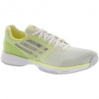 Adidas Women's adiZero Ubersonic Tennis Shoes (Neon Yellow/ White/ Lt Silver) - Adidas adiZero Tennis Shoes