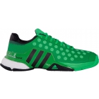 Adidas Men's Barricade 2015 Boost Tennis Shoes (Green/ Black) - Adidas Barricade Tennis Shoes
