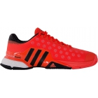 Adidas Men's Barricade 2015 Boost Tennis Shoes (Red/ Black) - Men's Tennis Shoes
