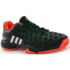 Adidas Junior Barricade 2015 Tennis Shoes (Black/ Red/ White) - Tennis Shoes for Kids