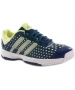 Adidas Barricade Team 4 xJ Tennis Shoes (Navy/ Metallic/ Frozen Yellow) - Adidas Barricade Team Tennis Shoes