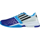 Adidas Men's CC adiZero Feather III Tennis Shoes (White/ Silver/ Purple) - Adidas adiZero Tennis Shoes