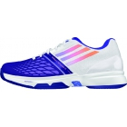 Adidas Women's CC adiZero Tempaia III Tennis Shoes (White/ Purple) - Adidas adiZero Tennis Shoes