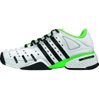 Adidas Barricade V Mens Tennis Shoes (White/ Black/ Lime) - How To Choose Tennis Shoes