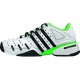 Adidas Barricade V Mens Tennis Shoes (White/ Black/ Lime) - Tennis Shoe Guarantee